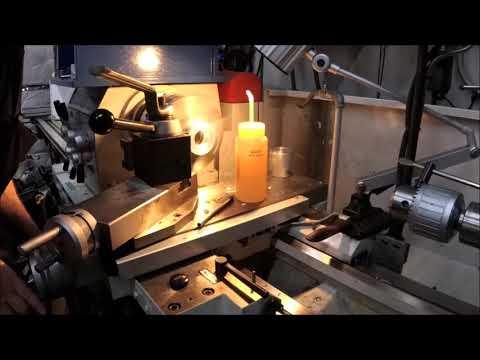 Cast Iron Handwheel Boring and Tapping 2