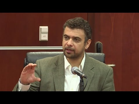 The People's Tribunal on the Iraq War, Day One: Raed Jarrar