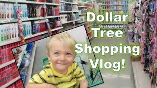 DOLLAR TREE HAUL:  Shopping Vlog!