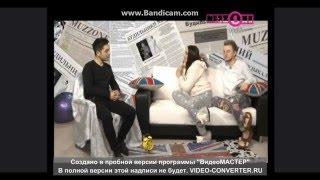 Слава Басюл на казахстанском музыкальном канале MUZZONE в утреннем шоу 'Будильники'