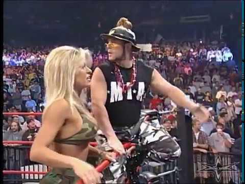 (720pHD): WCW Nitro 05/22/00 - Major Gunns & Kimberly Segment