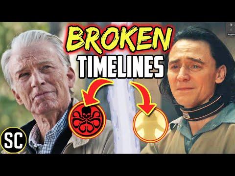 LOKI: What Happens Next In the Broken AVENGERS ENDGAME Timelines? | Marvel Theory breakdown