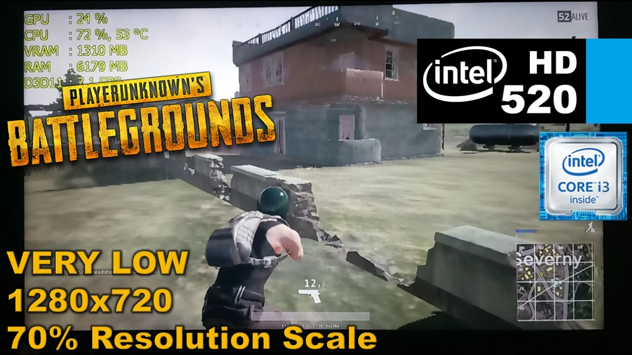 Playerunknown's BATTLEGROUNDS [i3 6100u