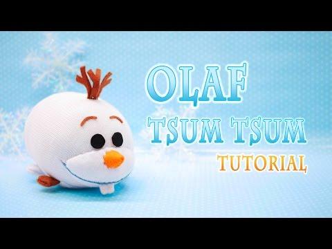 DIY Disney Frozen Olaf Tsum Tsum Plushie - Free pattern!