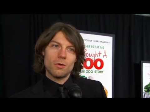 Patrick Fugit  Snippet at 'We Bought a Zoo' Premiere