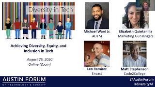 Achieving Diversity, Equity, and Inclusion in Tech