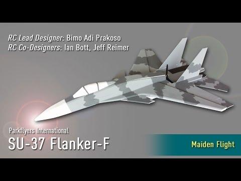 One Step Closer to Ultimate Parkjet: Parkflyers International's SU-37 MaidenFlight
