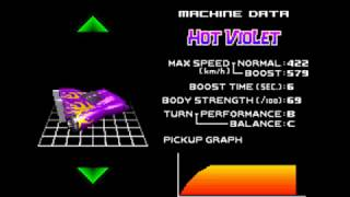 F-Zero Maximum Velocity - All Machines