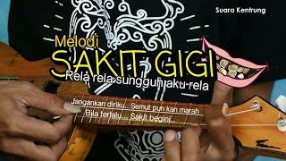 Melodi Sakit Gigi Meggy Z Versi Kentrung Lagu Tiktok Yang Viral