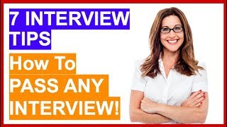 Download lagu 7 TOP INTERVIEW TIPS! How To PASS Any Job Interview!
