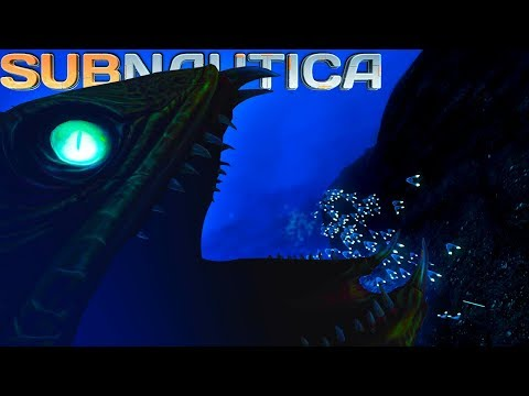 Subnautica - WE RELEASED A TERRIBLE MONSTER! Rocket Launch Cockpit Footage Leaked & More! - Gameplay