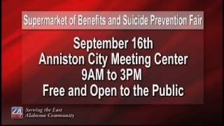 Supermarket of Benefits and Suicide Prevention Fair