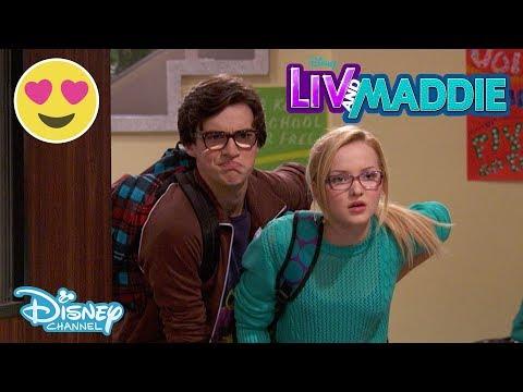 Liv and Maddie | The Secret Admirer 💖 | Disney Channel UK