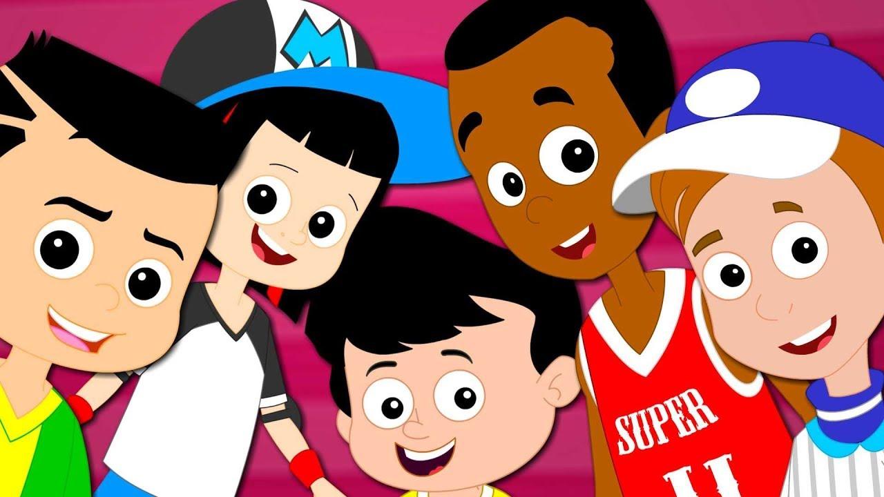 bd8aa1c6859460 Five In The Bed | Super Star Rangers Videos | Kindergarten Nursery ...