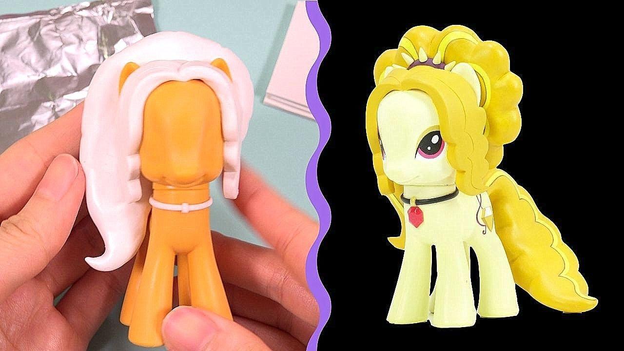 0d81c4ee9 Custom ADAGIO DAZZLE My Little Pony EQUESTRIA GIRLS Tutorial MLP Toy DIY    SweetTreatsPonies - YouTube