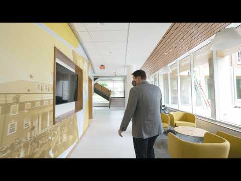 Join Jordan Gatewood of Mackey Mitchell Architects for a short tour of the brand new First-Year Residence Hall on campus.
