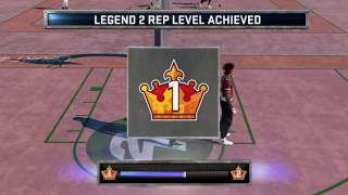 Hitting Legend 2 in NBA 2k16 MyPark Live Reaction