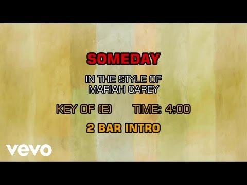 Mariah Carey - Someday (Karaoke)
