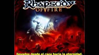 Ad Infinitum + From Chaos To Eternity - Subtitulos Español [Rhapsody]