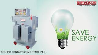 Servokon - Servo Voltage Stabilizer Manufacturer in Delhi