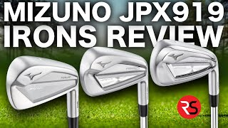 STUNNING LOOKING......NEW MIZUNO JPX919 IRONS!