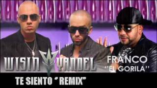 Wisin Y Yandel Feat. Franco el Gorila - Te Siento Remix VERSION ORIGINAL REGGAETON 2010 + LYRICS