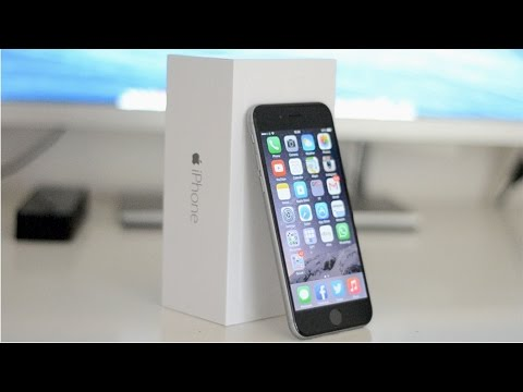 iphone 6 unboxing hands on review launch day space grey youtube. Black Bedroom Furniture Sets. Home Design Ideas