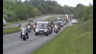 Biker Funeral Cortege