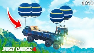 THE BEST VEHICLE in Just Cause 4 (Free Roam Funny Moments)