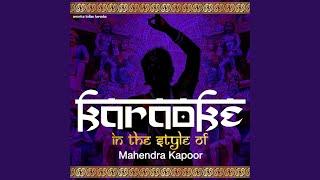 Chalo Ek Baar Phir Se (Karaoke Version)