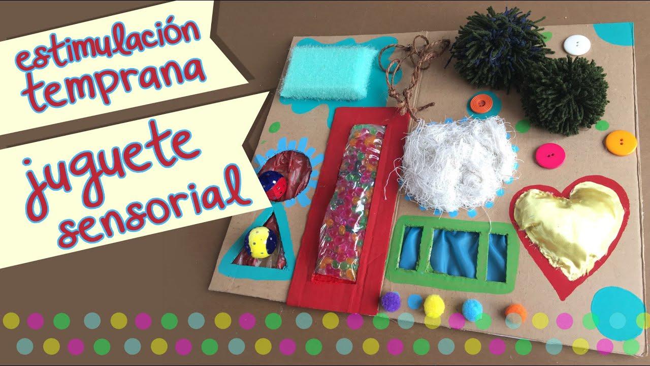 Juguete de Bebe Sensorial  Estimulacin de los sentidos