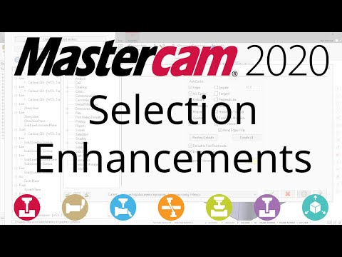 Mastercam 2020 General Enhancements | In-House Solutions