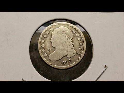 Capped Bust Dime!  Coin Show Pickups 23 May 15