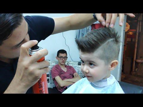 Cocuk Sac Modeli 2020 Cocuk Berberi Youtube
