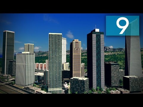 Cities Skylines: Ferrisburgh Part 9 - Downtown