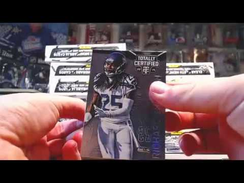 2014 Panini Totally Certified Football Case Break