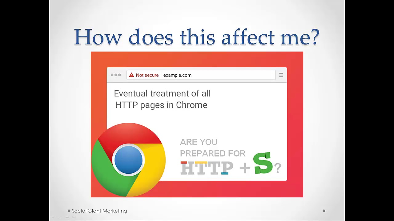 What Googles Ssl Update Means For Your Website In 2018 Youtube
