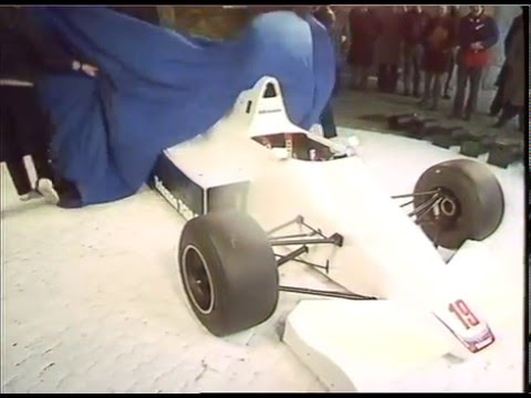 Toleman TG185 - The F1 car that nearly never was | Thames News