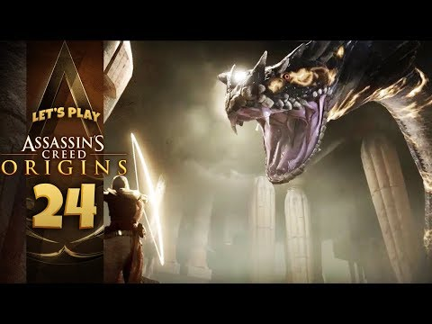 A FINAL FANTASY QUEST? GIFT FROM THE GODS | Assassin's Creed: Origins (Let's Play Part 23)