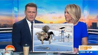 Australian Media Reacts to Serena Williams Cartoon