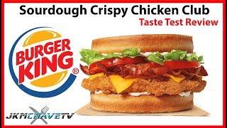Video Burger King NEW Sourdough Chicken Club Taste Test Review | JKMCraveTV download MP3, 3GP, MP4, WEBM, AVI, FLV Mei 2018