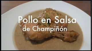 Pollo En Salsa De Champiñones Recetas De Cocina Fácil Youtube