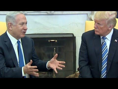 Trump Talks Trade Wars, U.S. Embassy In Israel In Meeting With Netanyahu