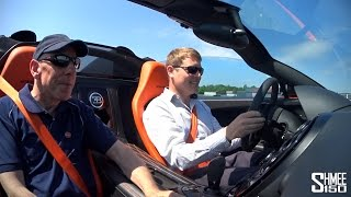 My First Drive in the Bugatti Veyron Vitesse WRC [Shmee's Adventures]