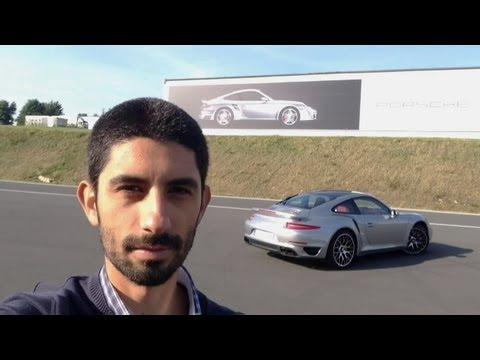 Porsche 911 Turbo S 991, prova su strada  English subtitled Road Test