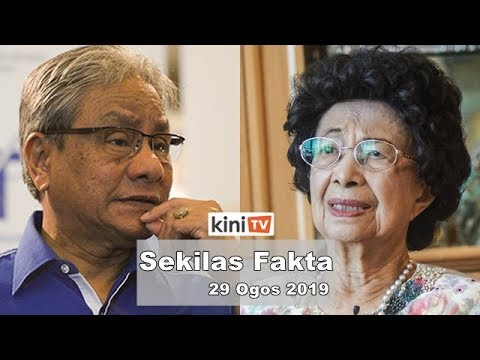 Kerajaan lucut hak RM100k dari Hasan Malek, Siti Hasmah keluar hospital