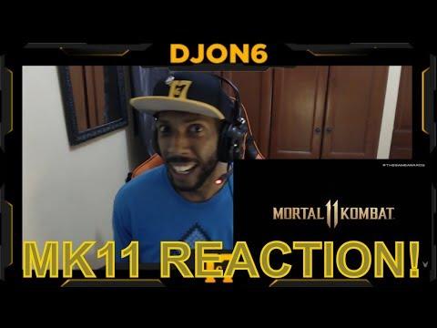 MORTAL KOMBAT 11 - TRAILER REACTION - OMG! thumbnail