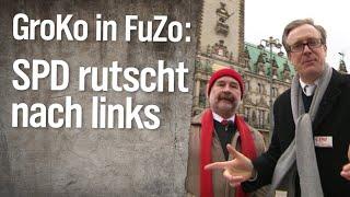 GroKo in der FuZo: SPD rutscht nach links