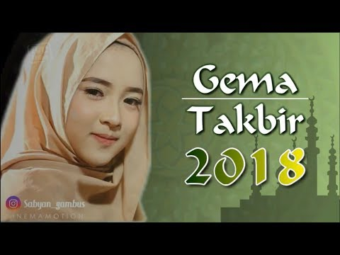 WO!!!! SUARA TAKBIR 2018 VERSI NISSA SABYAN