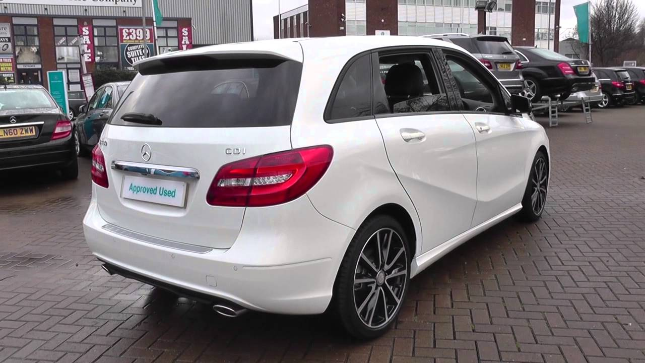 Mercedes benz b class 246 b180 cdi sport u21020 youtube for Mercedes benz b class 180